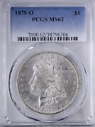 1879 O Morgan Dollar Pcgs Ms62 Bold Strike For This Date