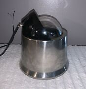 Vintage Ritchie 5 Binnacle Mount Compass W/light And Stainless Steel Case