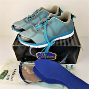 Dr. Comfort Katy Womenand039s Therapeutic Extra Depth Athletic Shoe Turquoise 11 Wide