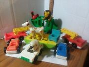 Vintage Fisher Price Little People Lot-castle, Farm, Zoo, Hospital, Camping ++++