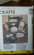 Oop Mccalls Crafts 7399 Sew Organized Needlecase Sewing Pouch Chatelaine New