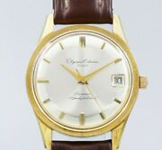 Orient Olympia Calendar Swimmer Deadstock Maual Winding Vintage Watch 1960and039s