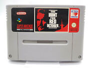 Nintendo Snes Game - The Hunt For Red October Module Pal