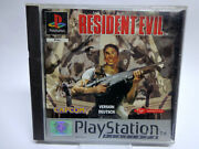 Ps1 / Sony Playstation 1 Game - Resident Evil 1 Platinumusk18 Boxed Pal
