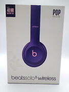 Headphones - Beats Solo3 Wireless Pop Collectionviolet With Boxed 11173823