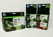 8-pack Hp Genuine 564xl Color And Photo Ink Combo Pack Lot 7520 7525 Sealed
