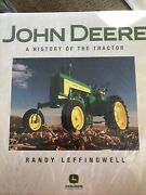 New Sealed John Deere A History Of The Tractor, Randy Leffingwell, Hard Cover