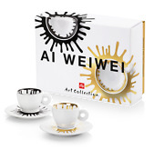 Illy Art Collection 2021 -ai Weiwei -2 Espresso Cups - Exclusive Offer Rare