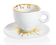Illy Art Collection 2021 -ai Weiwei - 4 Cappucinno Cups - Exclusive Offer Rare