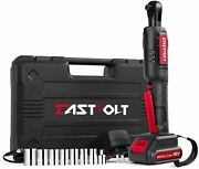 12v Cordless Electric Ratchet Wrench 3/8 35ft-lbs Power Wrench Tool Free Ship