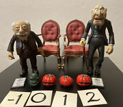 Jim Hensonandrsquos Muppets Series 6 Waldorf And Statler Action Figures Lot Palisades
