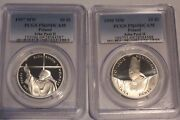 Poland Pcgs Pope John Paul Ii 2 Coins You Buy And Pay For 2 Coins Pr69 Deep Came