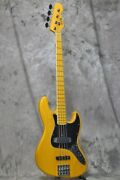 Used Atelier Z M245/70 Natural Electric Bass Guitar From Japan