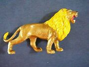 Very Old Celluloid Animal Lion Toy Vintage Nice Condition