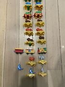 Vintage Bruder Mini Circus Toy Train Pieces From West Germany 19 Pieces