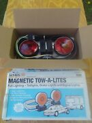 U-haul Magnetic Tow Lights Vehicle Trailer Tow Taillights Brake And Signal Lights