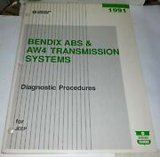 Chrysler 1991 Bendix Abs And Aw4 Transmission System For Jeep Service Training