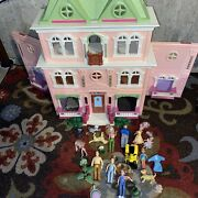 Fisher Price Loving Family Grand Mansion Dollhouse With Acessories