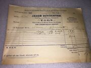 1933 Recite From Jacob Schachter For 30 Dozen Egg Shipped To New York City