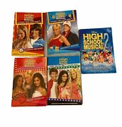 High School Musical Lot Of 5 Paperback Books Stories From East High Disney