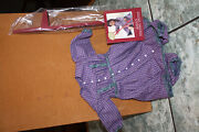 New Rare Pleasant Company American Girl Addy's Stilting Outfit - New In Box