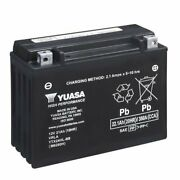 Motorcycle Battery Yuasa Ytx24hl-bs For Bombardier Sno 0 All Models - 19901998