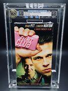 Vhs Fight Club Igs 8.5-8.5 Mint 1st Press 1999 Cult Brad Pitt / Edward Norton