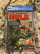 Incredible Hulk 5 Cgc 6.5 Ow-white Pages Hi End 1st Tyrannus Mcu Movies Invest