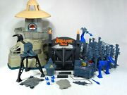 Rare Complete Vintage 1993 Kenner Jurassic Park Command Compound Playset Toy Htf