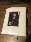 Vintage John F. Kennedy Scrapbook From Campaign Staffer Loaded With Ephemera