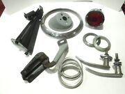 Vintage 1948-51 Willys Jeepster Grab Bag/ Box/lot Of Misc. Various Parts. 1