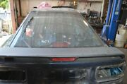 1987-1988 Toyota Supra Mk3 7mge Blue Rear Trunk Hatch Assembly With Spoiler
