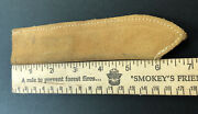 Wwi Wwii Ww2 Us Army Military Leather Knife Sheath Mess Tin Kit Meat Can Pouch