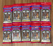 2020-2021 Panini Prizm Nba Basketball Cello Fat Pack Lot Of 10 - New Sealed