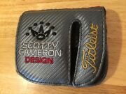 Scotty Cameron 2017 Futura 6m Mid Square Left Handed Putter Cover Titleist Lh