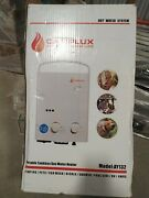 Camplux 5l 1.32 Gpm Outdoor Portable Propane Gas Tankless Water Heater W/ 1.2gpm