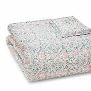 Jr By John Robshaw Collection Queen Quilt Patta Coral / Turquoise 103