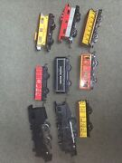 Lot Of Marx Trains Vintage Tin Cars And 2 Engines