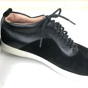 Gourmet Nfn Oxfords Lace Up Casual Shoes Us 9 Euro 42 Mens Black Leather Suede