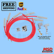 Spark Plug Wire Set Msd Fits Ford Falcon 60-1970