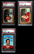 1966-67 Topps Hockey Almost Complete Set 3.5 - Vg+