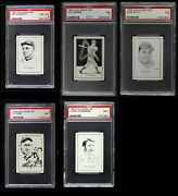 1950 Callahan Hall Of Fame Almost Complete Set 7 - Nm