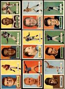 1957 Topps Football Complete Set 2.5 - Gd+