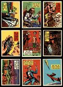 1957 Topps Isolation Booth Gee Whiz Complete Set - Premier 7 - Nm