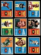 1964 Topps Cfl Football Almost Complete Set 3.5 - Vg+