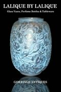 Lalique By Lalique Glass Vases, Perfume Bottles And Tableware, Like New Used, ...