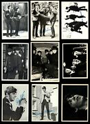1964 Topps Beatles Black And White Partial Complete Set 7 - Nm