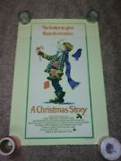 A Christmas Story- 27 X 40 One Sheet Poster - Morman Rockwell Style - Rare