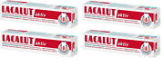 Lacalut Aktiv X 4 Daily Medical Toothpaste Made In Germany 75ml