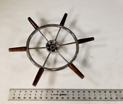 Boat Steering Wheel Nautical Helm 10andrdquo Diameter And 16andrdquo Tip To Tip